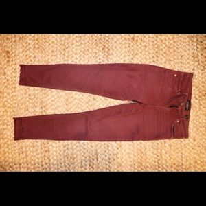 Lucky Brand Maroon Jeans